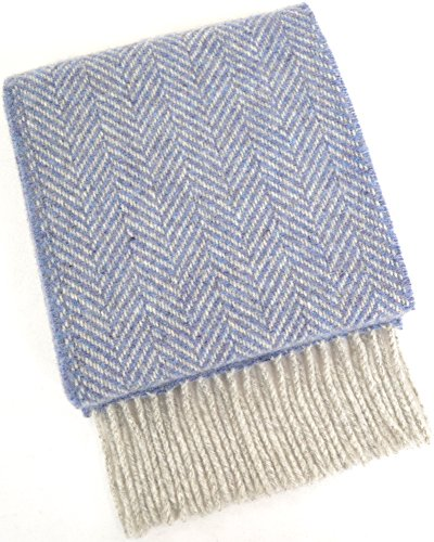 Ladies 95% Merino Wool 5% Cashmere Soft Chunky Scarf - 23...