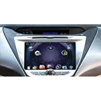 POWER ACOUSTIK P-85ELTR OEM Upgrade Multimedia Navigation with 8-Inch Monitor and Bluetooth for Hyundai Elantra 2011