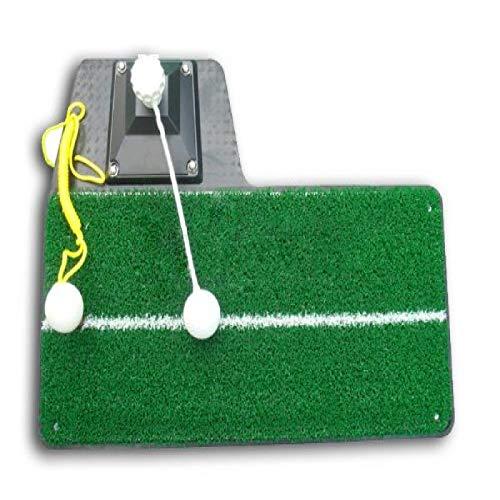 Double Sky Golf Practice Swing Mat 3in1 /Turn Shot/string Shot/free Shot ()
