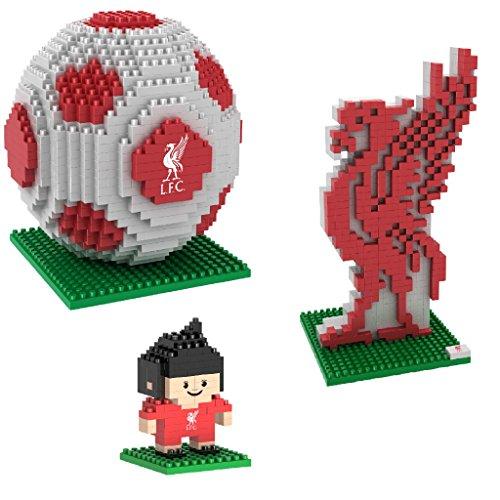 BRXLZ Liverpool FC 3D Construction Toy Bundle