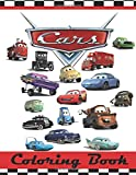 """Cars Coloring Book: This 80 Page Childrens Coloring Book has images of Lightning McQueen, Tow Mater, Doc Hudson, Sally Carrera, Fillmore, Sarge, Luigi ... Strip """" The King"""" Weathers and Chick Hicks."""