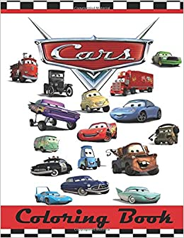 Cars Coloring Book: This 80 Page Childrens Coloring Book has ...