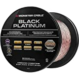Monster Cable MC BPL XP-CI BIG-100 WW Black Platinum CL Rated XP Clear Jacket Compact Speaker Cable
