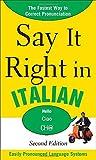 Say It Right in Italian, EPLS, 0071767754
