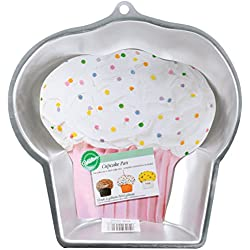 "Wilton Novelty Cupcake Pan, 9.75""X9.5""X5""X2"""
