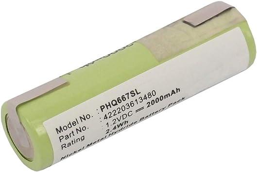 subtel® Batería Premium Compatible con Philips 482XL / HP2750 ...