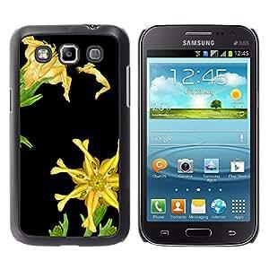 MOBMART Carcasa Funda Case Cover Armor Shell PARA Samsung Galaxy Win I8550 - Floral Feminine Legs Pattern