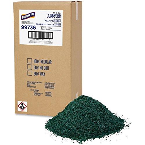 Genuine Joe GJO99736 Non-Petroleum Sweeping compound, No. 50, 1/Bx, AST , 24