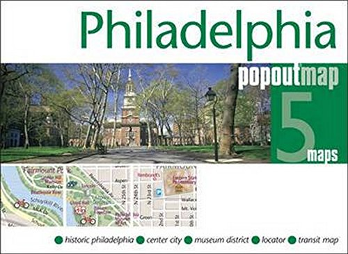 Philadelphia PopOut Map (PopOut - Atlantic Mall Nj City