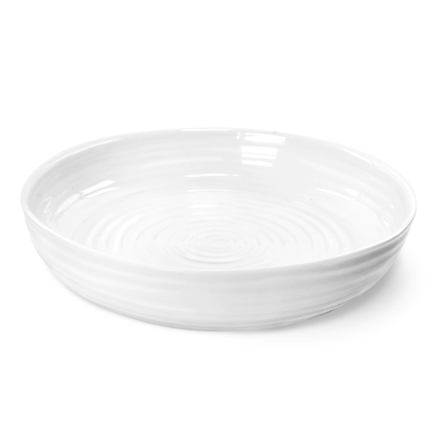 Portmeirion Sophie Conran White Round Roasting Dish