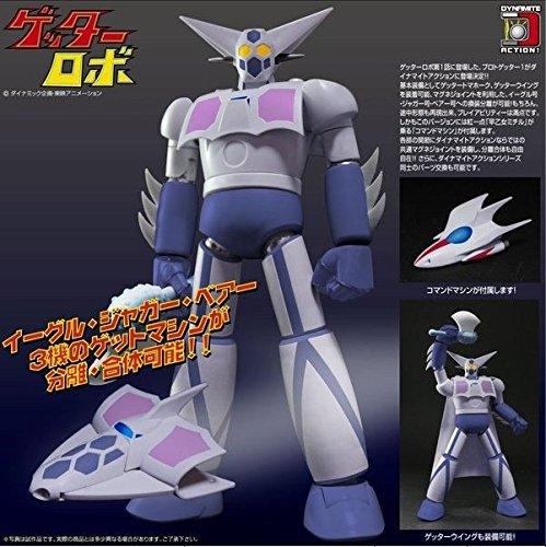 Getter Robot Proto ABS PVC Getter 1 Figure 6 1/2 Dynamite Action - Abs Figure