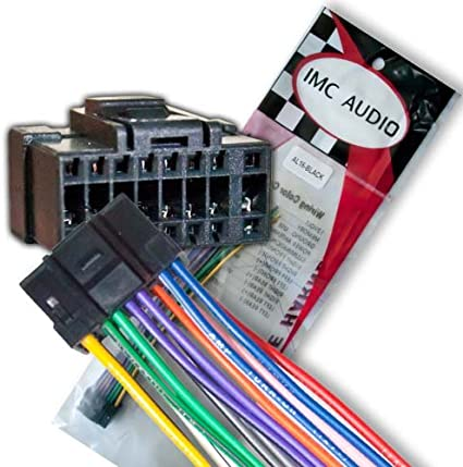 [SCHEMATICS_48IS]  Amazon.com: Alpine CDA 9853 9855 9856 9857 9881 9883 9884 9885 9883 9887  Wire Wiring Harness: Automotive | Alpine Cda 9884 Wiring Diagram |  | Amazon.com