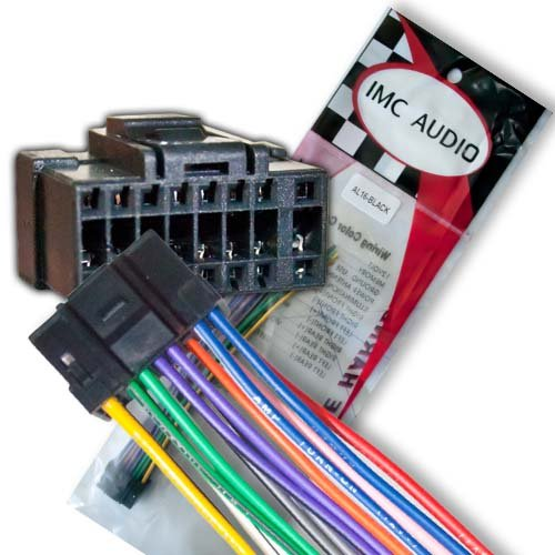 Alpine CDE 102 103BT 121 122 123 124 125 125BT 126 126BT 9841 Wire Wiring Harness IMC Audio