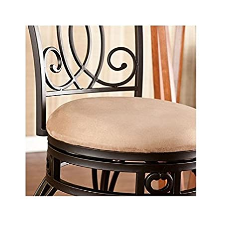Pleasing Amazon Com Novali Swivel 25 Counter Height Stool Cell Pabps2019 Chair Design Images Pabps2019Com