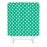Deny Designs Leah Flores Minty Freshness Shower Curtain, 69'' x  90''