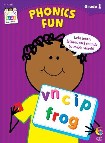 Phonics Fun Stick Kids Workbook, Grade 1 (Stick Kids Workbooks)