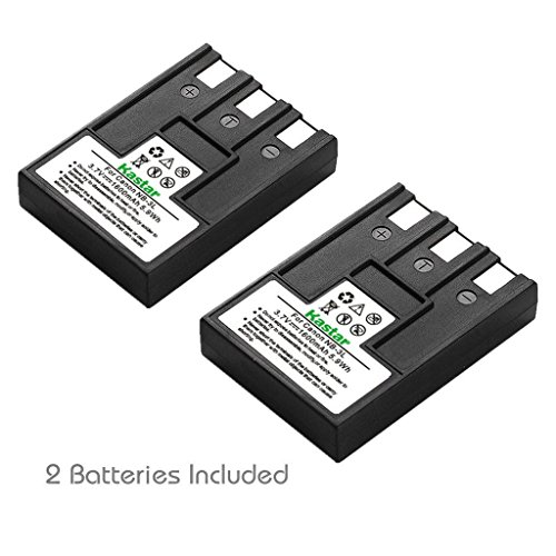 Kastar Battery (2-Pack) for Canon NB-3L and PowerShot SD10, SD100, SD110, SD20, SD500, SD550, Digital IXUS 700, 750, i5, Digital 30, 30a, 600, 700, D30, D30a, D53Z, IXY Digital L, IXY Digital L2 ()