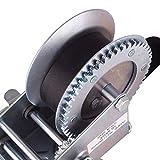ExGizmo 3500lbs Dual Gear Hand Winch Hand Crank