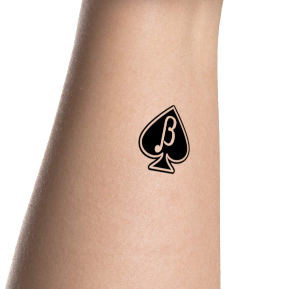Galleon - 15 X BETA BOY MALE Jack Of Spades Sissy Temporary Tattoos - Queen  Of Spades - Hotwife - BBC - Cuckold - Swinger - Cuckoldress.