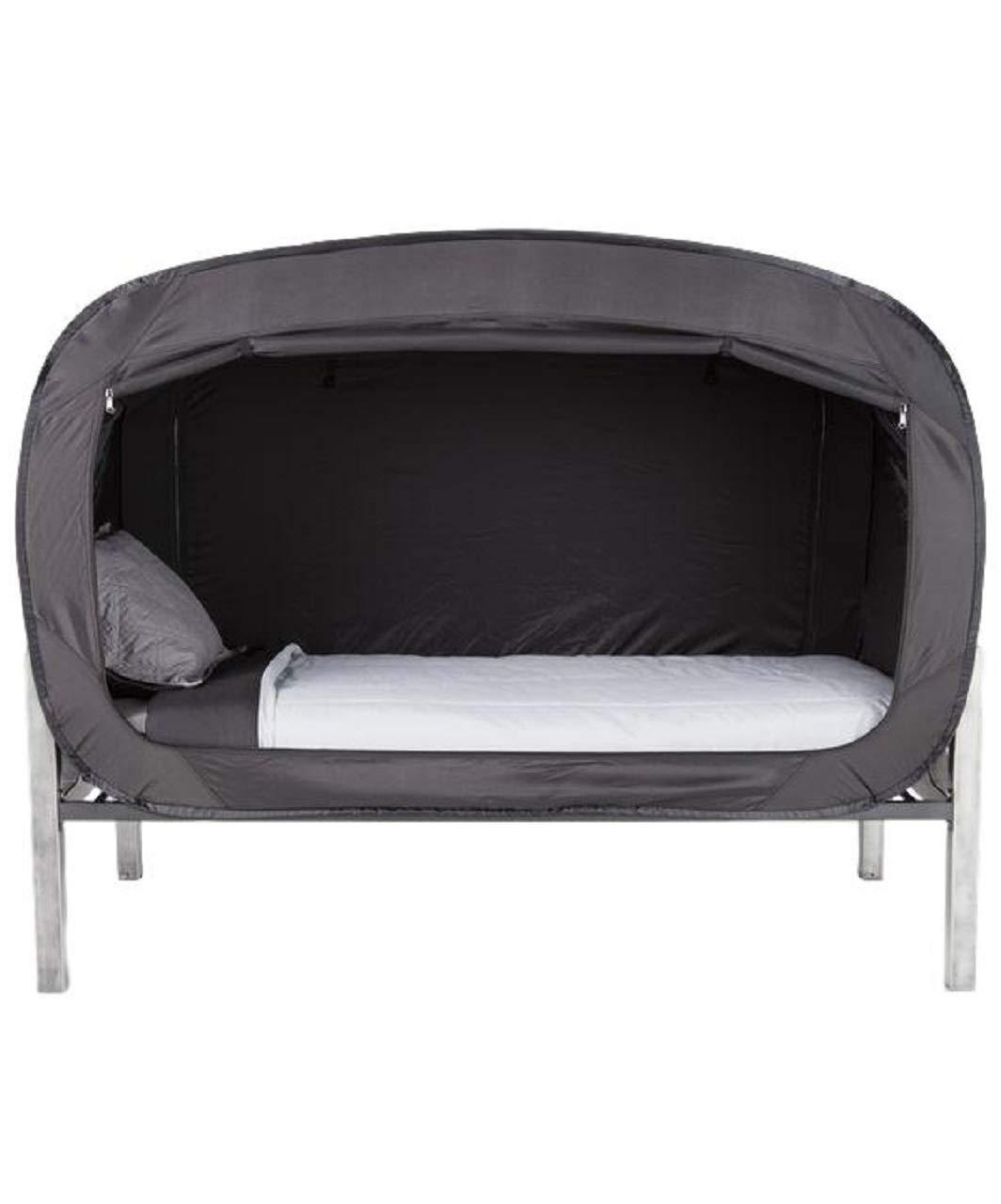 Privacy Pop (プライバシー ポップ) ベッド テント プライバシー 個人 部屋 災害 グッズ アウトドア ガーデン イグルー ブラック フル