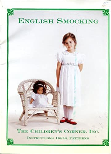 English Smocking Instructions Ideas Patterns Lezette Ballew