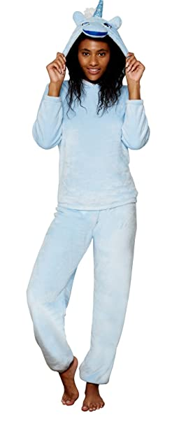 Lora Dora Womens Fleece Twosie Set  Amazon.co.uk  Clothing 36d500c2d