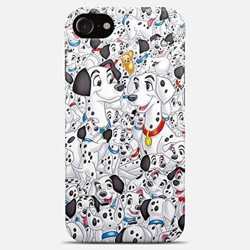 101 dalmatians iPhone case dalmatians phone case 7 plus X XR XS Max 8 6 6s 5 5s se 102 dalmatians art cover hard platic transparent silicone together dogs