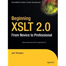 Beginning XSLT 2.0: From Novice to Professional