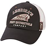 Indian Motorcycle Black and White First Hat