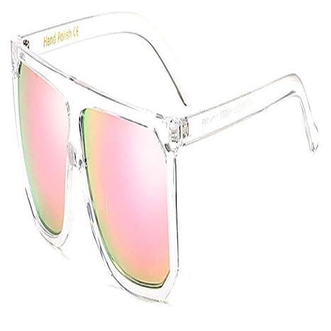 Yangjing-hl Gafas de Sol cuadradas de Gran tamaño para Mujer ...