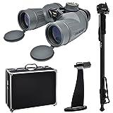 Fujifilm Fujinon Polaris 7×50 FMTRC-SX Waterproof/Fogproof Binoculars with Compass with Hard Case + Monopod + Tripod Adapter For Sale