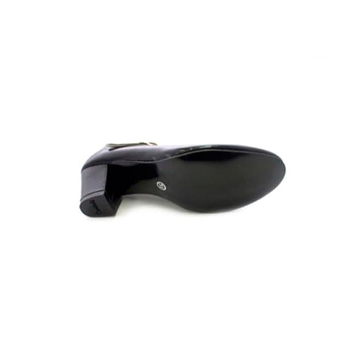 Zapato baile de tacón para niña y señora Carolina Guillo en negro talla 36 sIbSn