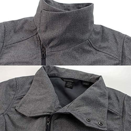 New North End Ladies Soft Shell Jacket-Lightweight Waterproof Zip Up Coat
