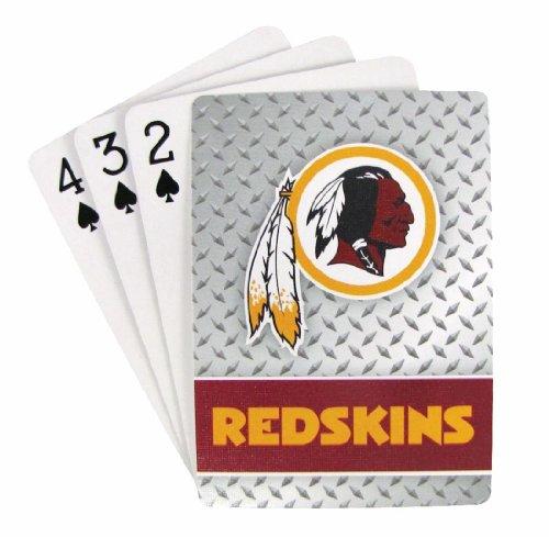 Pro Specialties Group NFL Washington Redskins Playing (Washington Redskins Nfl Trading Cards)