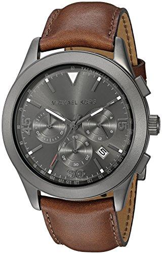 Michael Kors Men's Gareth Brown Watch MK8471 (Michael Kors Watch Men Leather)