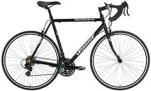 Windsor Wellington 2.0 Aluminum 21 Speed Shimano Equipped Road Bike (Black, 50cm)