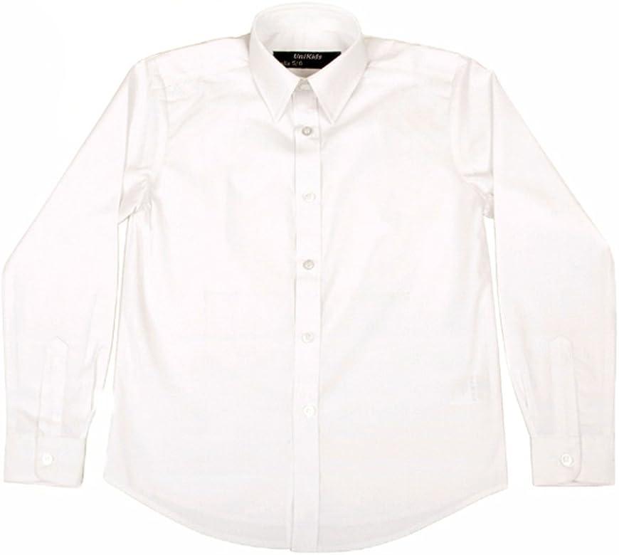Unikids - Camisa Blanca Uniforme Escolar, Talla 2-3 años: Amazon ...