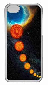 LJF phone case Customized iphone 5/5s PC Transparent Case - Star Life Cycle Personalized Cover