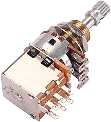 PG407 B500K Potenciómetro para potenciómetros de guitarra Cono de ...