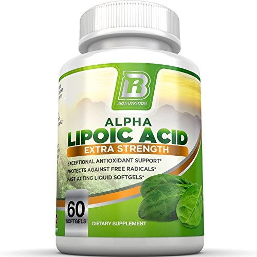 BRI Nutrition Alpha Lipoic Acid Softgels - 60 - Thorne R Lipoic