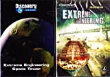 Extreme Engineering : 9 Episode Collection : Space Tower, Widening the Panama Canal , Boston's Big Dig ,Building Hong Kong's Airport ,Tunneling Under the Alps ,Iceland Tunnels ,Container Ships ,Oakland Bay Bridge ,Venice Flood Gates : 2 Pack : 3 Disc Set