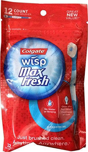 Colgate Wisp Pouch Pack - Peppermint 48 Count (4 Pack)