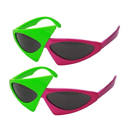 9a919f53f0 IPOTCH 2x Novelty Roy Purdy Party Sunglasses Funny Eye Glasses Costumes  Photo Prop
