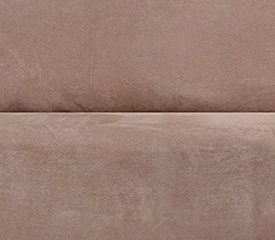 Sure Fit Faux Suede - Sofa Slipcover - Chocolate