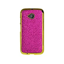 Reiko Cell Phone Case for Motorola Moto E LTE 2nd Gen, XT1527, XT1511, XT1505 - Retail Packaging - Pink