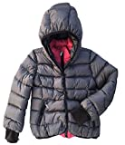 ADD GAGH25 Girls Winter Coat with attached Hood Size 8 Y/128 CM