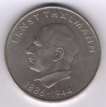 20 Mark Ddr Gedenkmünze 85 Geburtstag Von Ernst Thälmann 1971