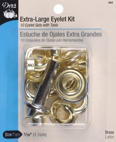 """100 Set Prym Steel Hooks And Eyes   Size #7//16/"""" ~Black"""