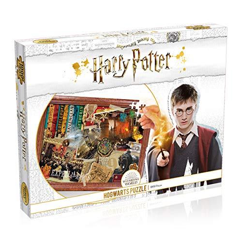Harry Potter Hogwarts 1000 Piece Jigsaw Puzzle