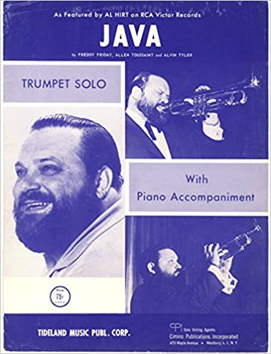 JAVA - Trumpet Solo Sheet Music with Piano Accompaniment - by Al Hirt